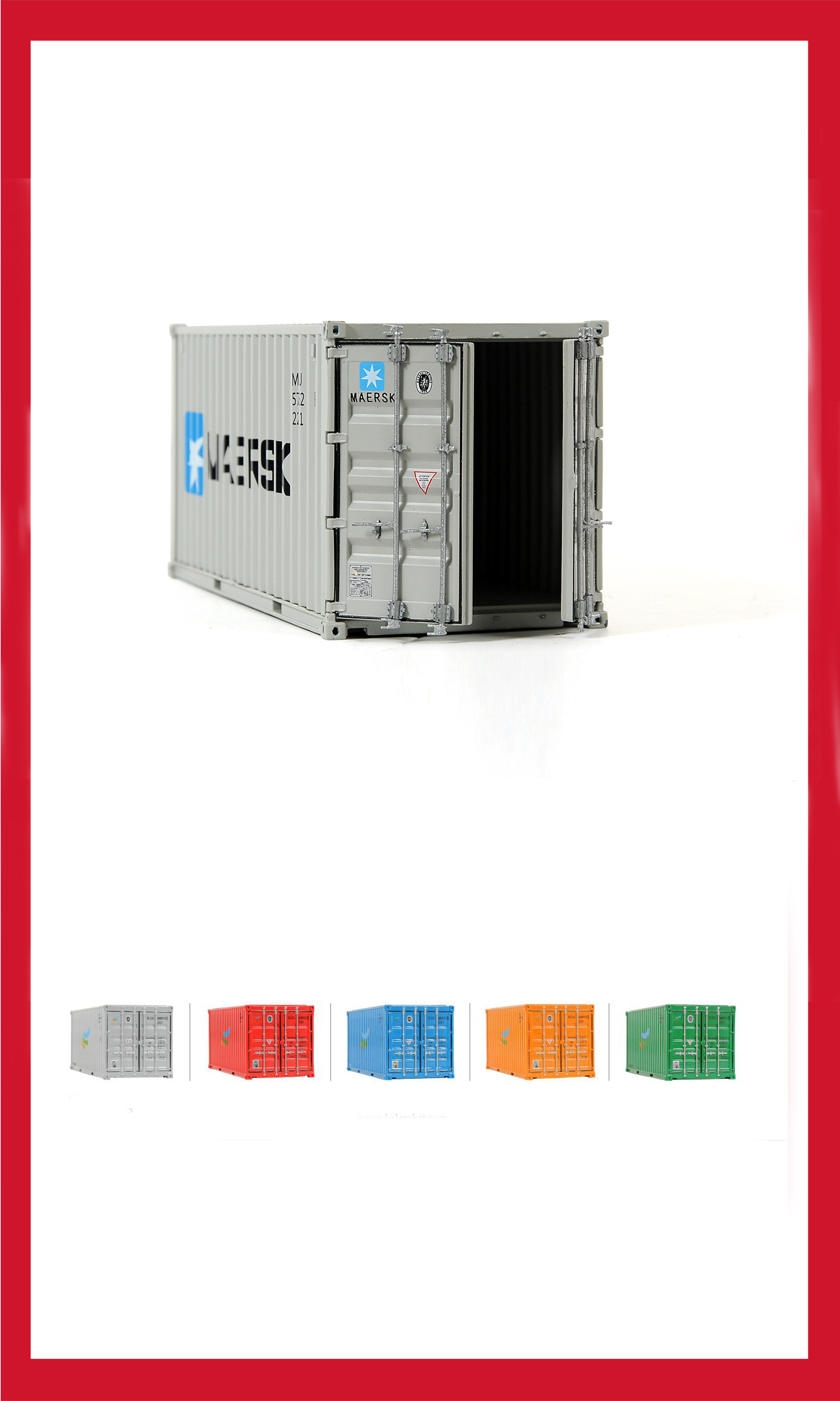 20'DC Container models -1/30