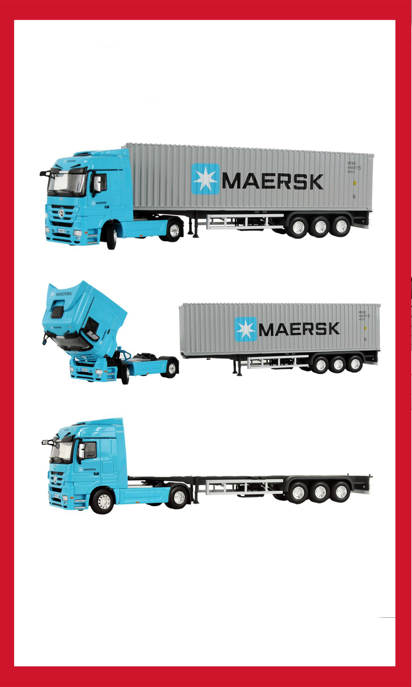 Truck & Standard Container