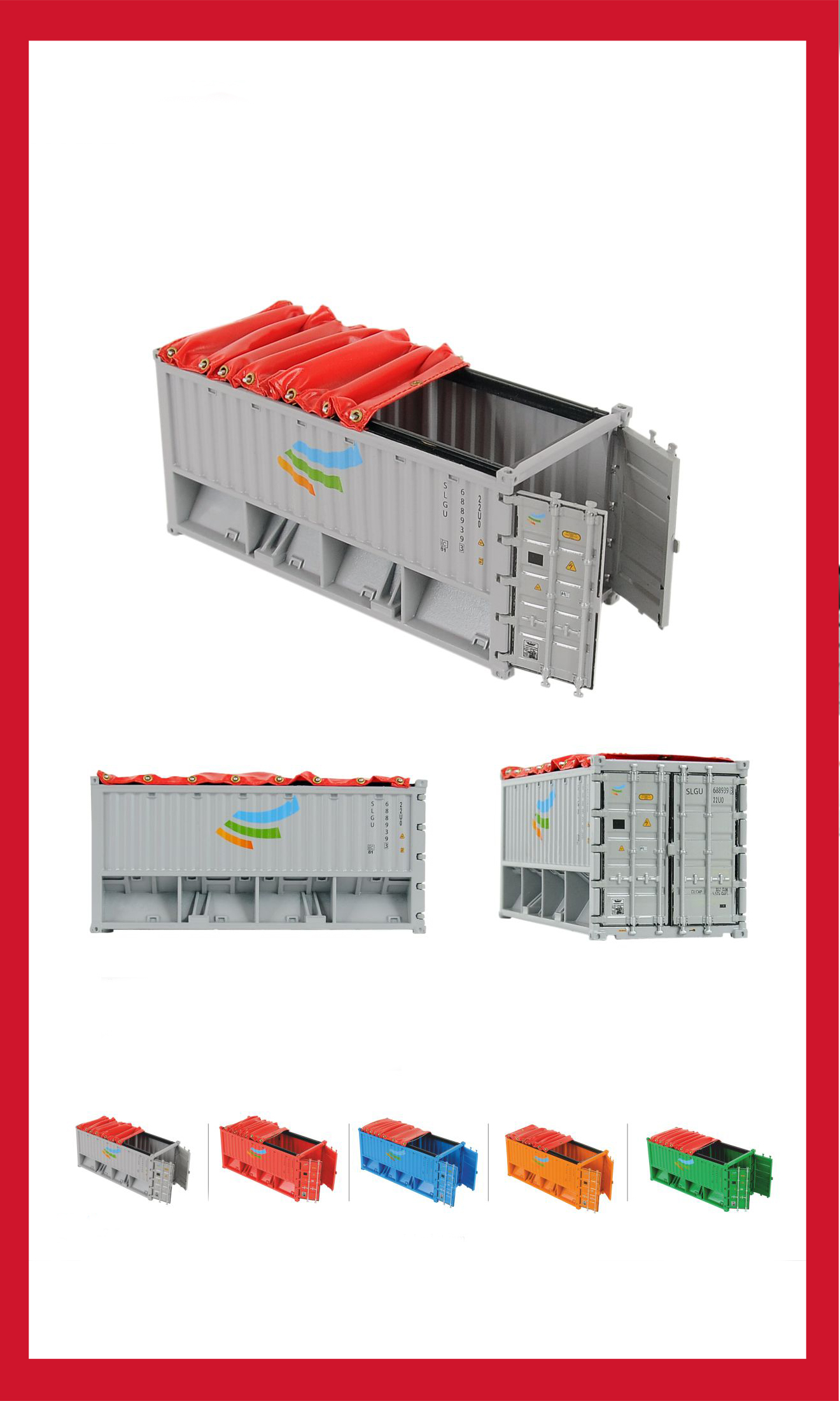 20' Opentop Container models
